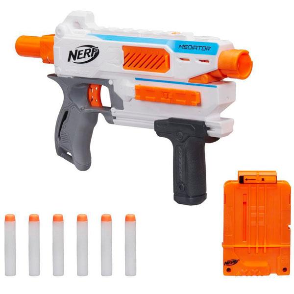 Купить Hasbro Nerf E0016 Нерф Бластер Модулус Медиатор, Бластер Hasbro Nerf