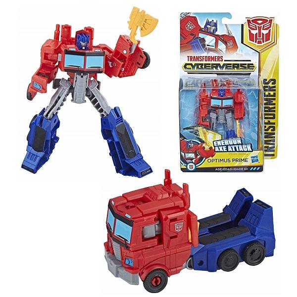 Купить Hasbro Transformers E1884/E1901 Трансформер КИБЕРВСЕЛЕННАЯ 14 см Оптимус Прайм, Игрушечные роботы и трансформеры Hasbro Transformers