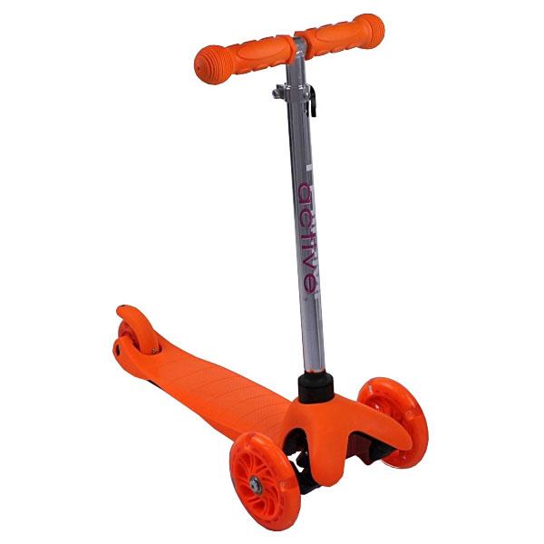 Купить Самокат трехколесный Triumf active 06AHor оранжевый, Самокаты Самокаты