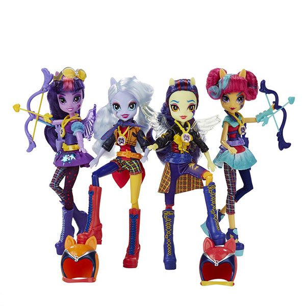 Hasbro My Little Pony B1772 Equestria Girls Кукла спорт Темномолнии (в ассортименте), Кукла Hasbro Equestria Girls  - купить со скидкой