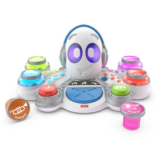 Купить Mattel Fisher-Price FWF90 Фишер Прайс Обучающий Осьминог, Развивающие игрушки для малышей Mattel Fisher-Price