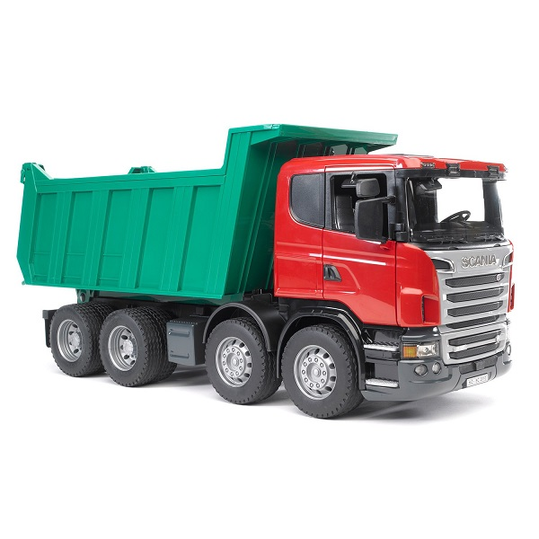 Игрушечные машинки и техника Bruder — Bruder 03-550 Самосвал Scania