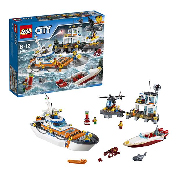 Lego City 60167 Конструктор Лего Город Штаб береговой охраны, арт:149784 - Город, Конструкторы LEGO