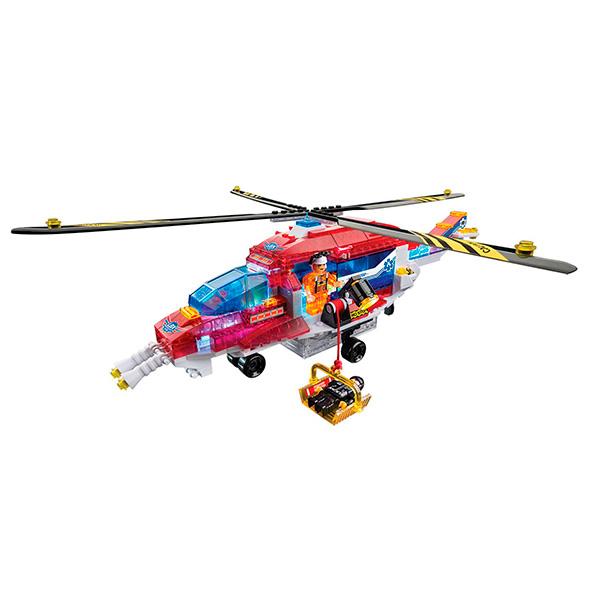 Lite Brix LB35822 Лайт Брикс Служба спасения Вертолет, Конструктор Lite Brix  - купить со скидкой