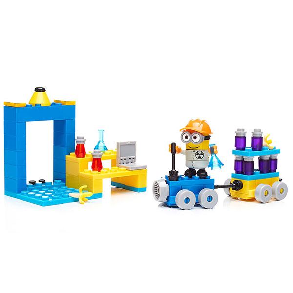Купить Mattel Mega Bloks DYD38 Мега Блокс Миньоны: большой набор деталей, Конструкторы Mattel Mega Bloks