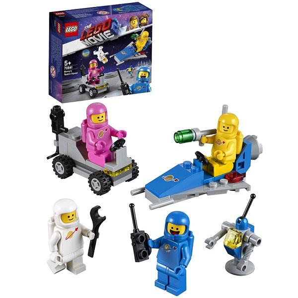 Купить LEGO Movie 2 70841 Конструктор ЛЕГО Фильм 2 Космический отряд Бенни, Конструкторы LEGO