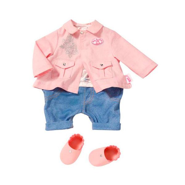 Одежда для куклы Zapf Creation Baby Annabell 793-718 Бэби Аннабель Одежда для прогулки, кор.