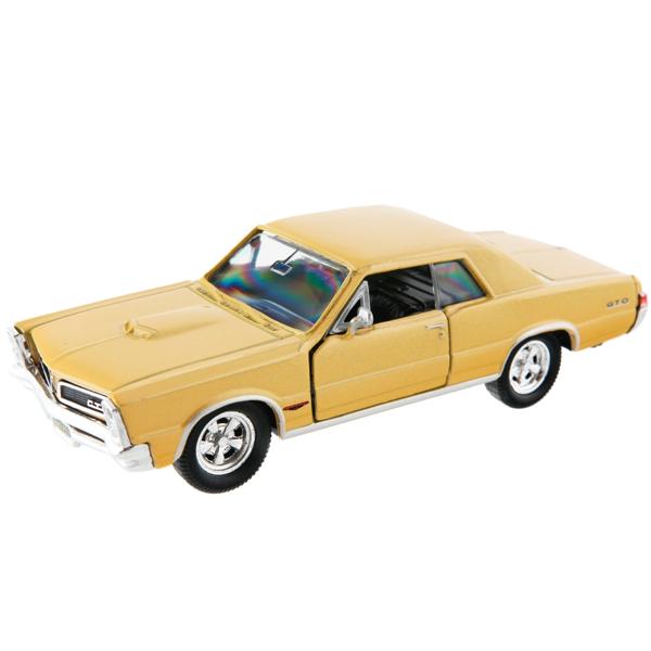 Купить Welly 42313 Велли Модель винтажной машины 1:34-39 Pontiac GTO 1965, Машинка инерционная Welly