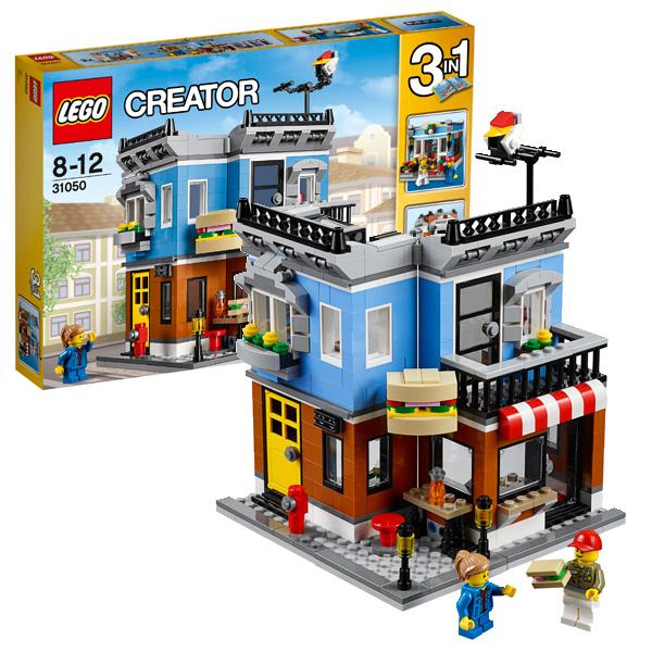 Lego Creator 31050 Конструктор Лего Криэйтор Магазинчик на углу, арт:126581 - Криэйтор, Конструкторы LEGO