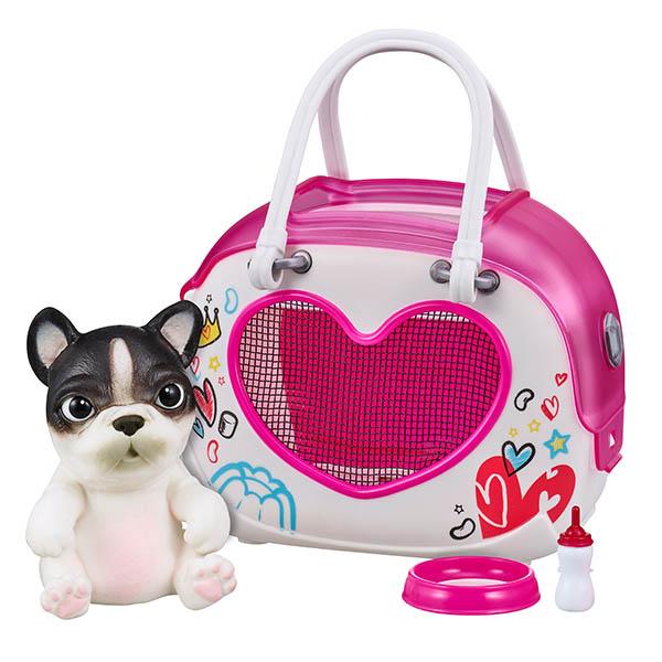 Купить Little Live Pets 28942 Cквиши-щенок OMG Pets! в переноске, Игровые наборы и фигурки для детей Little Live Pets