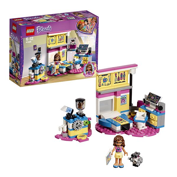 Купить Lego Friends 41329 Лего Подружки Комната Оливии, Конструкторы LEGO