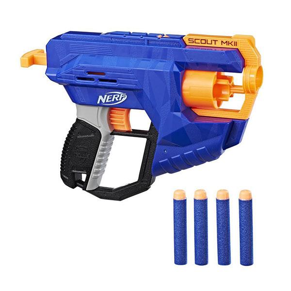 Купить Hasbro Nerf E0824 Нерф Бластер Элит Скаут, Игрушечное оружие и бластеры Hasbro Nerf