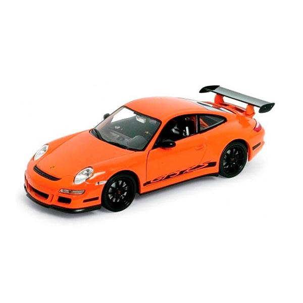 Машинка Welly 22495 Велли Модель машины 1:24 PORSCHE 911 (997) GT3 RS
