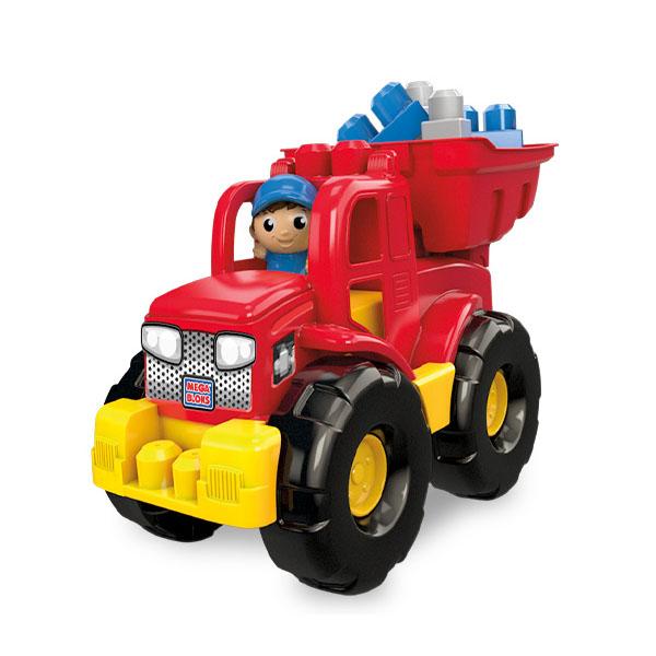Mattel Mega Bloks DPP73 Мега Блокс Грузовик  трансформер - Игрушки для малышей