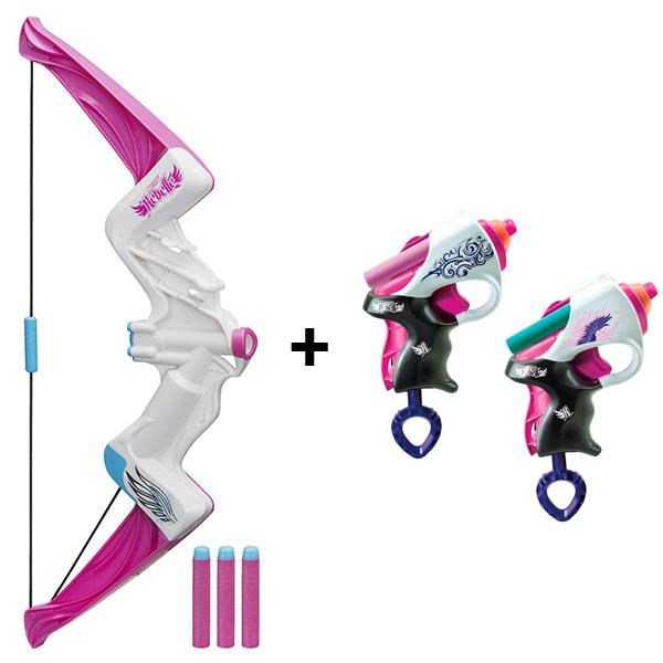 Игрушечное оружие Hasbro Nerf - Оружие и снаряжение, артикул:151481
