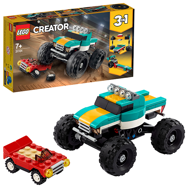 Конструкторы LEGO — LEGO Creator 31101 Конструктор ЛЕГО Криэйтор Монстр-трак