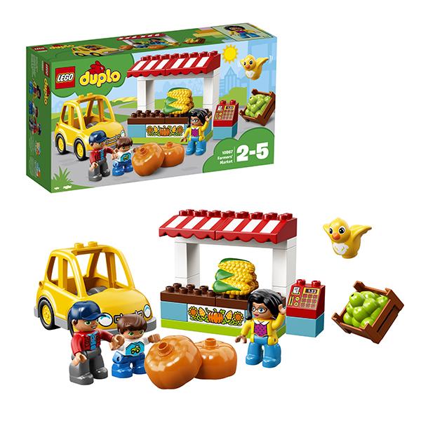 Купить LEGO DUPLO 10867 Конструктор ЛЕГО ДУПЛО Фермерский рынок, Конструкторы LEGO