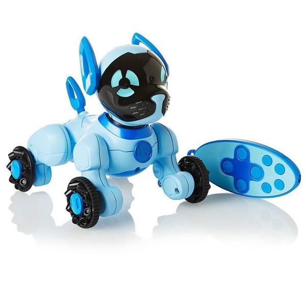 Купить Wow Wee 2804-3818 Собачка Чиппи голубой, Интерактивная игрушка Wow Wee