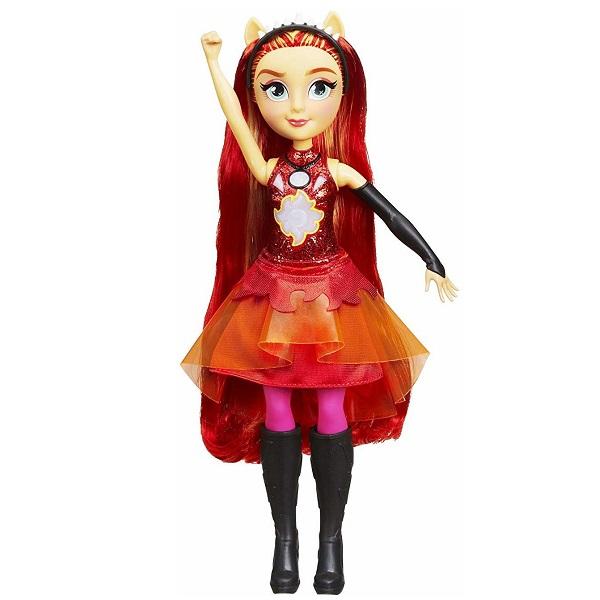 Купить Hasbro My Little Pony E1984/E2743 Кукла интерактивная Сансет Equestria Girls
