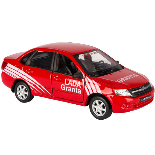 Купить Welly 43657RY модель машины 1:34-39 LADA Granta RALLY, Машинка Welly