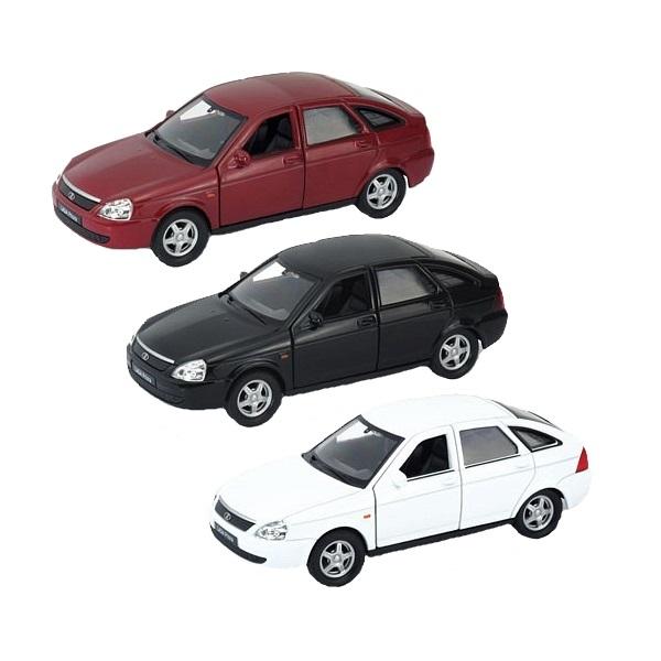 Купить Welly 43645 Велли модель машины 1:34-39 LADA PRIORA (в ассортименте), Машинка инерционная Welly