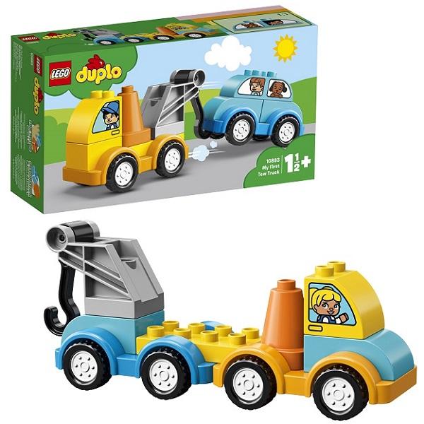 Конструкторы LEGO — LEGO DUPLO 10883 Конструктор ЛЕГО ДУПЛО Мой первый эвакуатор