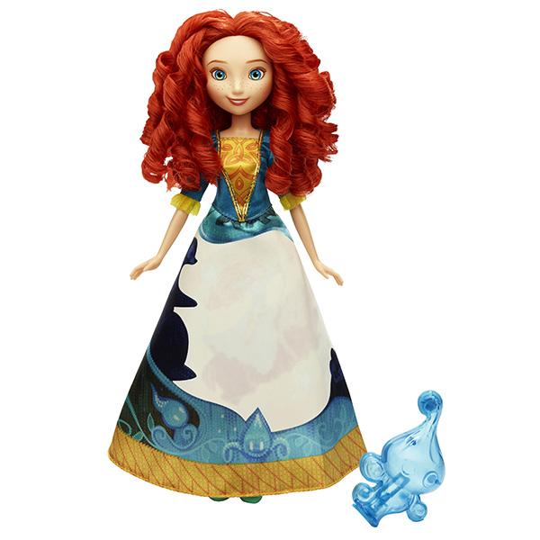 Купить Hasbro Disney Princess B5301 Принцесса Мерида в юбке с проявляющимся принтом, Кукла Hasbro Disney Princess
