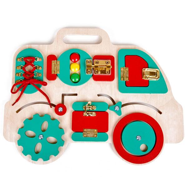 Купить Десятое Королевство TD02102 Бизиборд Машинка , Развивающие игрушки для малышей Десятое Королевство