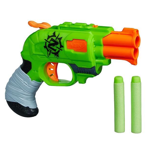 Купить Hasbro NERF A6562 Нерф Бластер Зомби Страйк Двойная Атака, Игрушечное оружие Hasbro Nerf