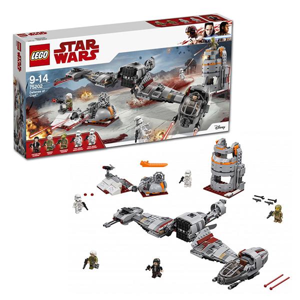 Купить LEGO Star Wars 75202 Конструктор ЛЕГО Звездные Войны Защита Крайта, Конструкторы LEGO