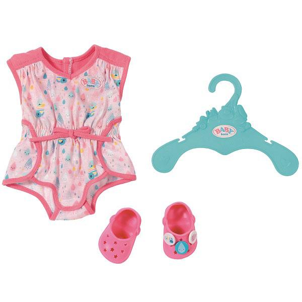 Купить Zapf Creation Baby born 824-634 Бэби Борн Пижамка с обувью, Одежда для куклы Zapf Creation
