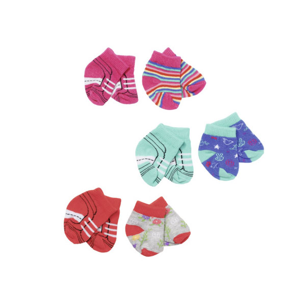 Купить Zapf Creation Baby born 827-017 Бэби Борн Носочки, 2 пары (в ассортименте), Одежда для куклы Zapf Creation