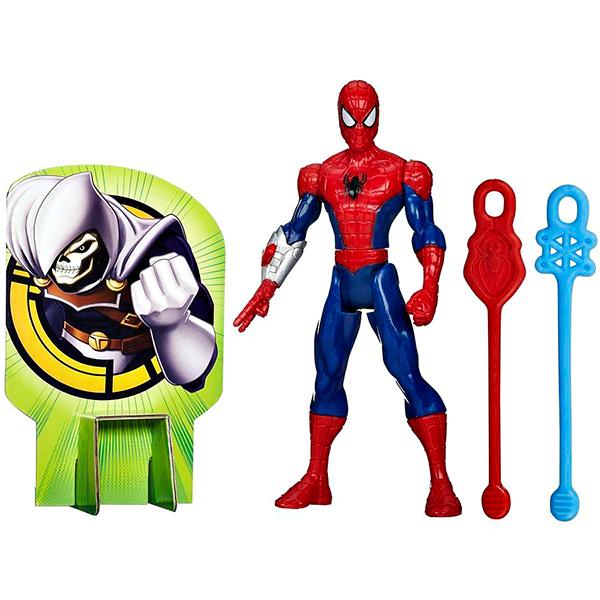 Hasbro Spider-Man B0571 Боевые фигурки Человека-Паука (в ассортименте), арт:133018 - Супергерои, Игровые наборы