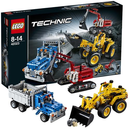 Lego Technic 42023 Лего Техник Строительная команда
