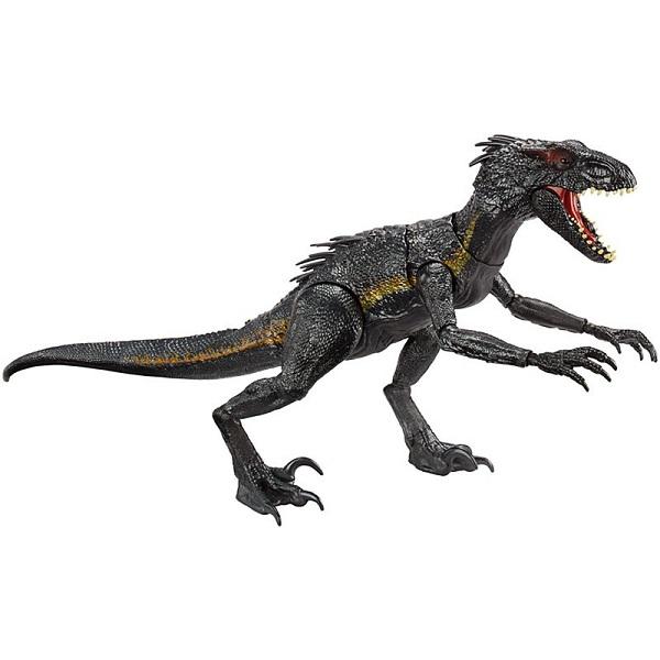 Mattel Jurassic World FLY53 Зловещий Индораптор - Игровые наборы