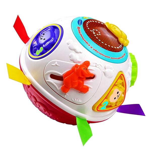 Купить VTECH 80-151566 Вращающийся и обучающий разноцветный мяч