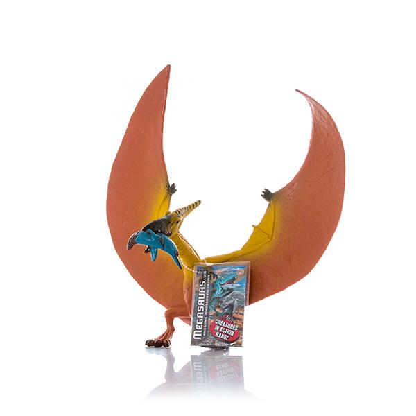 HGL SV12433 Игрушка фигурка Птеродактиль ест Ихтиозавра - Игровые наборы