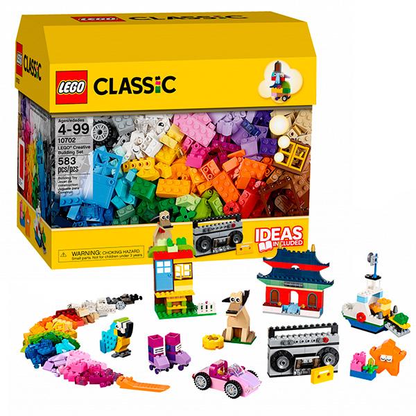 Lego Classic 10702 Конструктор Лего Классик Набор кубиков для свободного конструирования, арт:126573 - Классик , Конструкторы LEGO