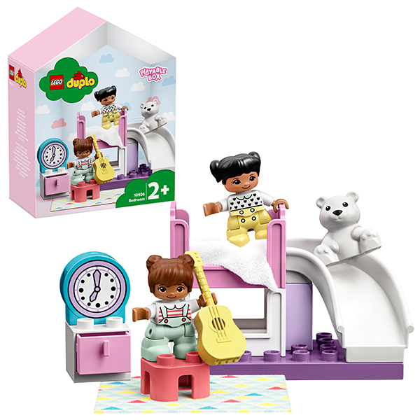 Конструкторы LEGO — LEGO DUPLO 10926 Конструктор ЛЕГО ДУПЛО Спальня