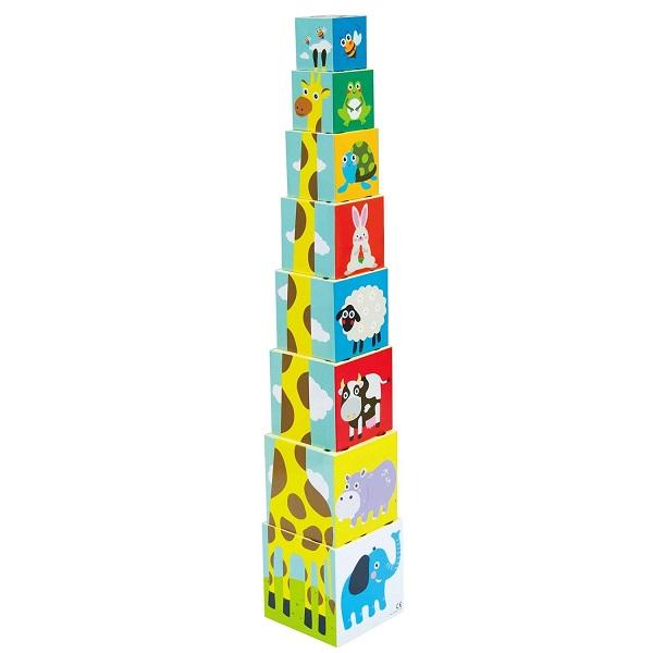 """Развивающие игрушки для малышей LITTLE HERO 3028A Развивающая игрушка """"Складные кубики"""" фото"""