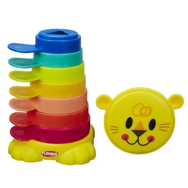 Купить Hasbro Playskool B0501 Возьми с собой Пирамидка-львенок, Игрушка для малышей Hasbro Playskool