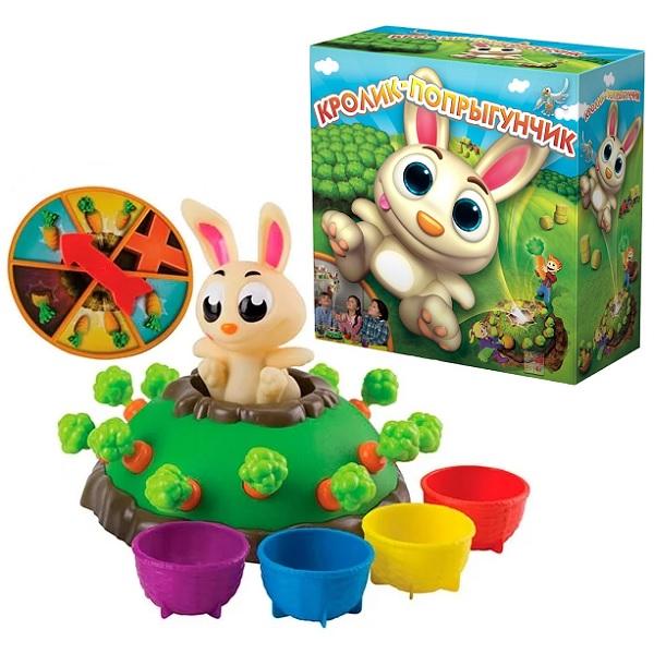 Goliath 30667.006 Настольная интерактивная игра Кролик-попрыгунчик - Настольные игры