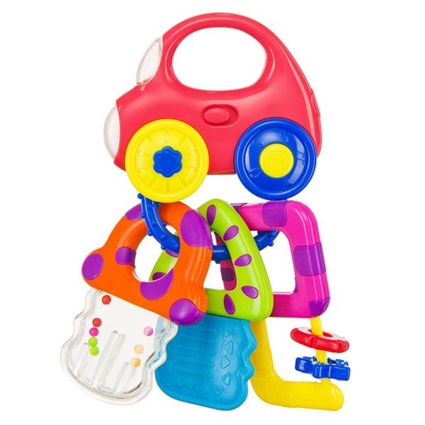 Купить Happy Baby 330368 Музыкальный брелок BABY CAR KEYS , Развивающие игрушки для малышей Happy Baby