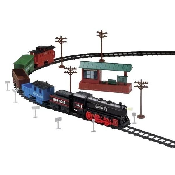 Eztec 63080 Железная дорога SANTA FE SPECIAL TRAIN SET (52 части)