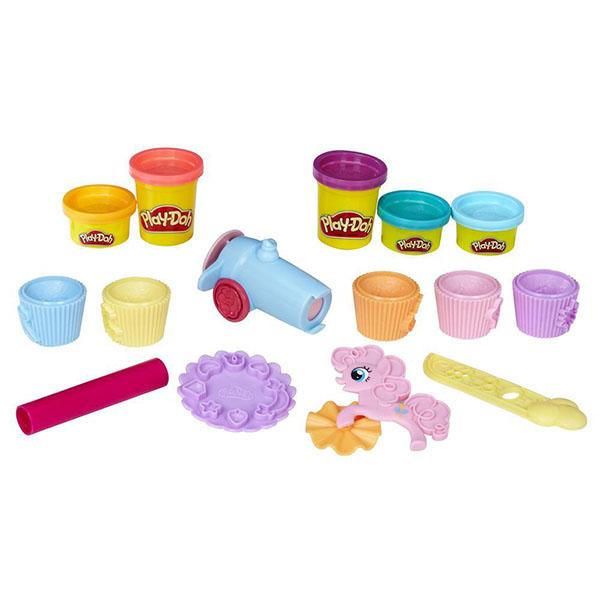 Купить Hasbro Play-Doh B9324 Игровой набор пластилина Вечеринка Пинки Пай , Пластилин Hasbro Play-Doh