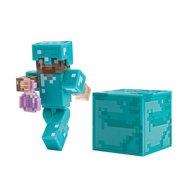 Купить Minecraft 19976 Майнкрафт фигурка Steve with Invisibility Potion, Минифигурка Minecraft