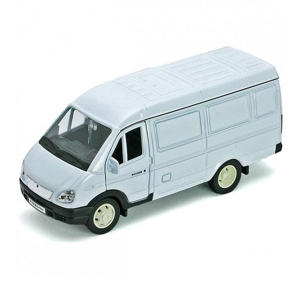 Купить Welly 42387C Велли Модель машины 1:34-39 ГАЗель фургон, Машинка Welly