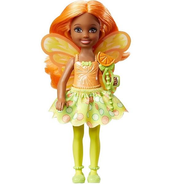 Mattel Barbie DVM89 Барби Маленькая фея Челси Цитрус