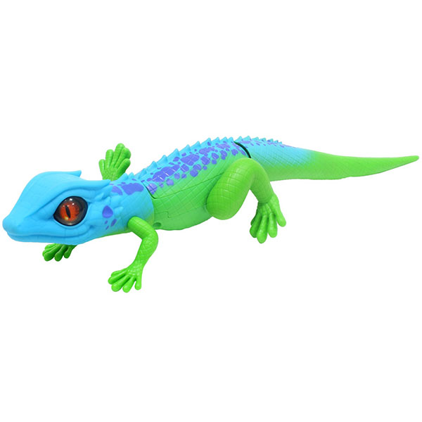 Купить Zuru RoboAlive T10993 Игрушка Роботизированная ящерица, сине-зеленая , Интерактивная игрушка Zuru RoboAlive