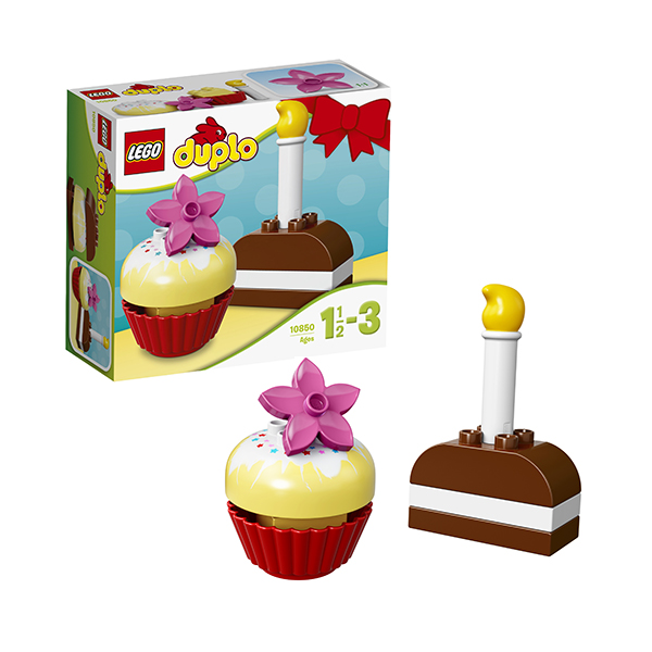 Купить LEGO DUPLO 10850 Конструктор ЛЕГО ДУПЛО Мои первые пирожные, Конструктор LEGO